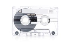Music cassette Stock Photos
