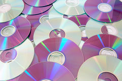Music CD Stock Photo