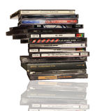 Music CD`s Stock Photo