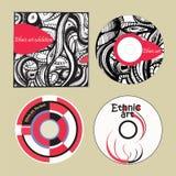 Music CDs ethnic art Stock Photography