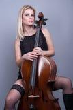 Music cello Royalty Free Stock Photo