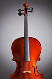 Music Cello in the dark Royalty Free Stock Photos