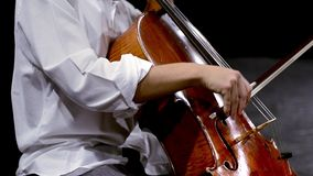 Music for cello stock footage