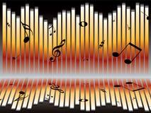 Music chart Stock Image