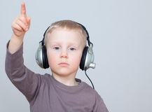 Music child Royalty Free Stock Photo