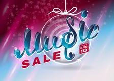 Music christmas sale Royalty Free Stock Photography