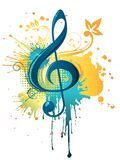 Music Clef Stock Photography