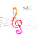 Music clef Stock Photo