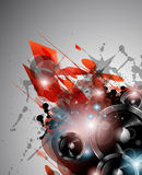 Music Club background for disco dance internationa Stock Photos