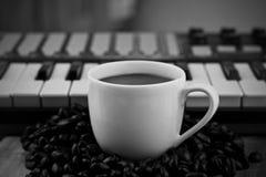 Music coffee Art Royalty Free Stock Photos
