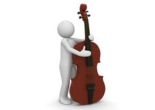 Music collection - Contrabass Royalty Free Stock Images