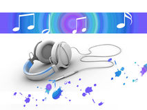 Music and color Stock Images