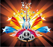 Music Colorful Abstract Background Stock Photos