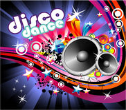 Music Colorful Flyer Background Royalty Free Stock Images