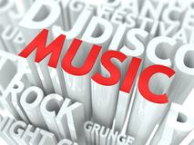 Music Concept. Stock Image