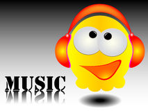 Music concept. Modern music concept -  illustration Royalty Free Stock Photo