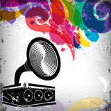 Music concept background Royalty Free Stock Photography