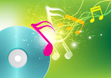 Music concept background Stock Images
