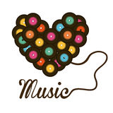Music concept Royalty Free Stock Images