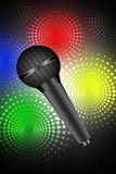 Music concept-microphone Stock Image