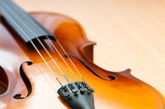 Music concept - violin Royalty Free Stock Photography