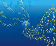 Music conceptional abstract background Stock Photo