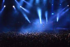 Music concert event stock photo
