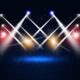 Music Concert Lights Royalty Free Stock Images