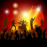 Music concert Stock Photography