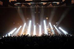 Free Music Concert With Audience And Lights From The Stage Stock Images - 48625324