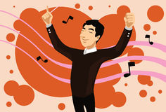 The Music Conductor Royalty Free Stock Photo