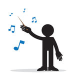 Music Conductor Stock Photography