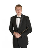 Music conductor portrait Stock Images