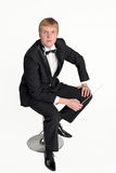 Music conductor portrait Stock Photos