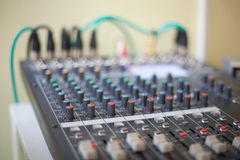 Music console Royalty Free Stock Photos