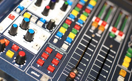 Music console Stock Images