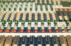 Music console Stock Photos