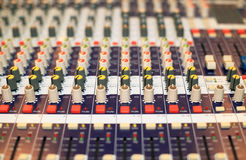 Music console Royalty Free Stock Images