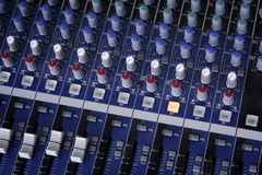 Music control console Stock Photography
