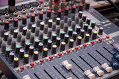 Music control panel Stock Photos