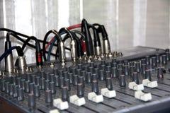 Music control panel device Stock Image