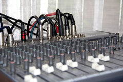 Music control panel device Royalty Free Stock Photography