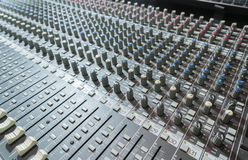 Music control panel Stock Image