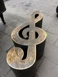 Music. Cool art street amazing Royalty Free Stock Photos
