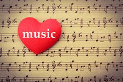 Music Cover Sheet Royalty Free Stock Photography