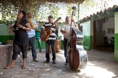 Music of Cuba Stock Photography