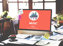 Music Culture Instrumental Rhythm Melody Audio Concept Stock Photo