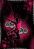 Music and Dance Background Royalty Free Stock Images