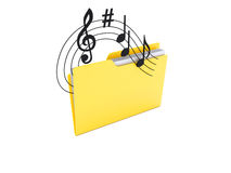 Music Data Royalty Free Stock Images