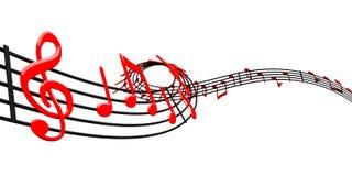 Music design Royalty Free Stock Photo